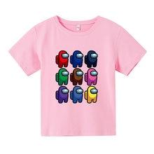 Summer New Children's T-Shirt Cartoon Multicolor Cotton Pattern Crew Neck Sports Fashion Popular