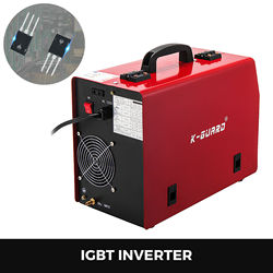 280A MIG welding machine inverter with gas / airless MMA IGBT with accessories