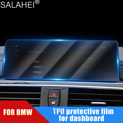 For BMW 1 2 3 4 Series X5 X6 X7 GT 540 530 525 Transparent Car Dashboard Screen Protective Film Anti-scratch Sticker Accessorie
