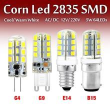Led-Bulb Bombillas Halogen-Light Lampada Led 12v G9 AC220V 5W SMD2835 12W 7W 1PCS 3W