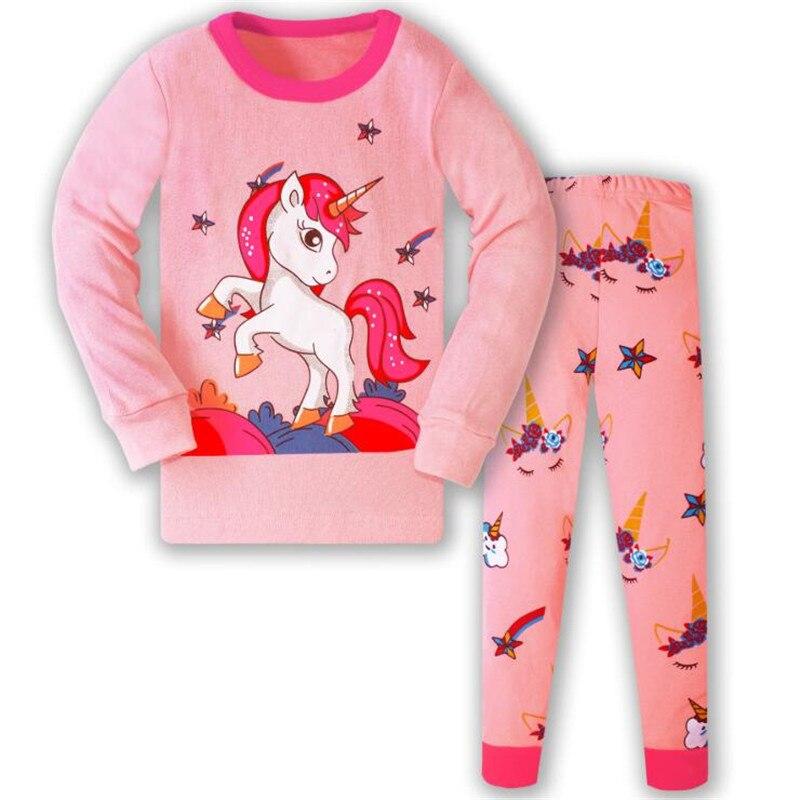 Children's Pajamas Set Kids Pajamas Baby Girl Spring Autumn Pajamas Pajama Infantil Kids Sleepwear Clothes Set 6