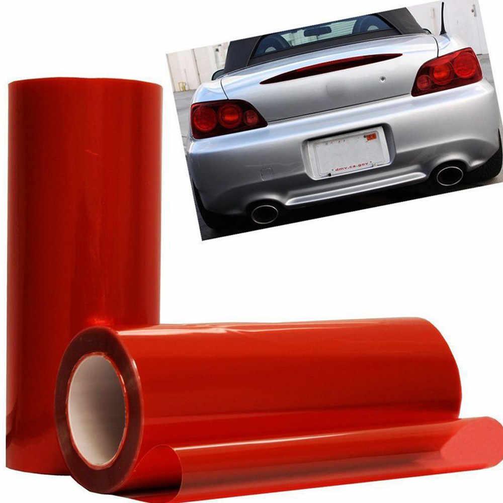 Autocollants de voiture nouvelle Auto voiture fumée antibrouillard phare feu arrière teinte vinyle Film feuille autocollant accessoires de voiture pour Honda pour Volvo