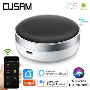 Image 1 - Smart Life domotique télécommande universelle WIFI + IR contrôle climatisation TV travail avec Google Assistant Alexa Siri