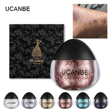 New Arrivals UCANBE Glitter Makeup Paste Diamond Gel for Face/Shadow/Highlighter/Body/Hair