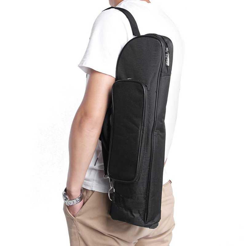البوق حقيبة جيتار المهنية مبطن لينة حقيبة حمل على ظهره حقيبة يد مع حزام الكتف أداة