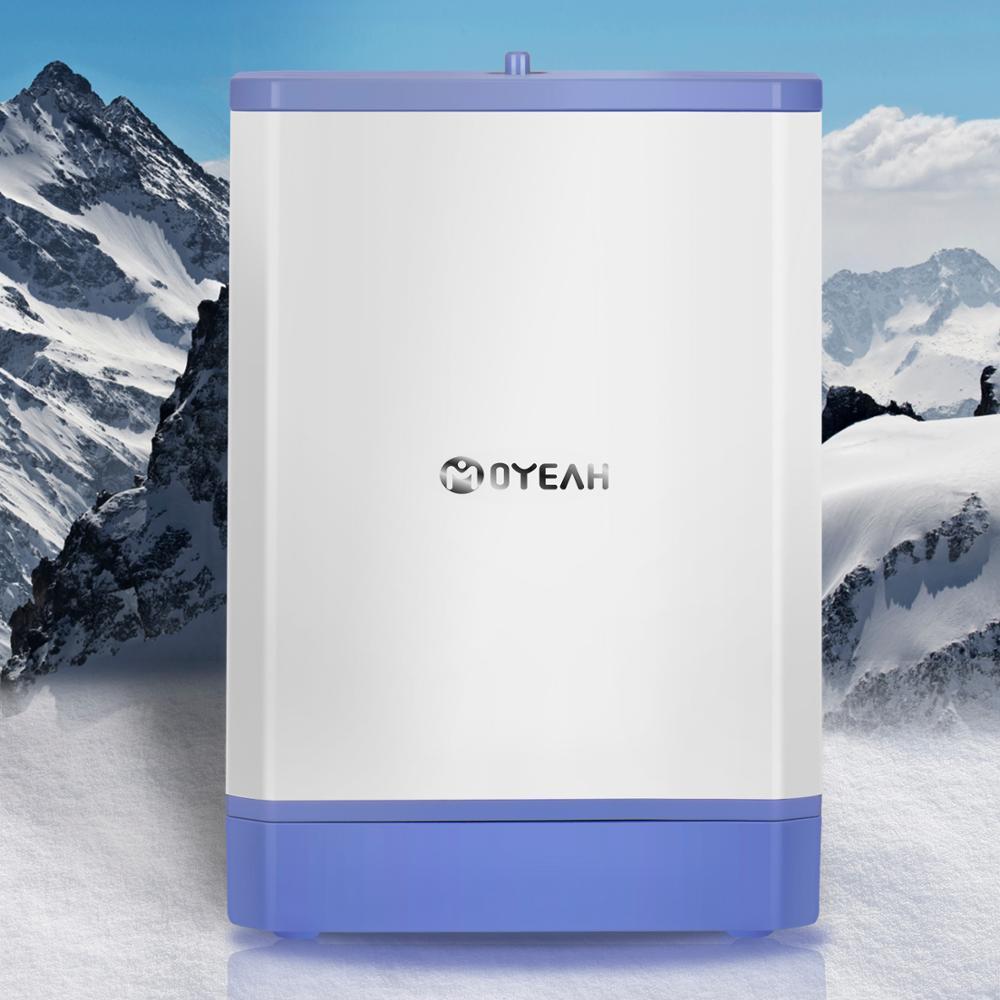 MOYEAH Reise Mini Sauerstoff Konzentrator Generator Tragbare Oxygenic Generator Maschine Luftreiniger 3,5 L/Min 6000mAh Batterie