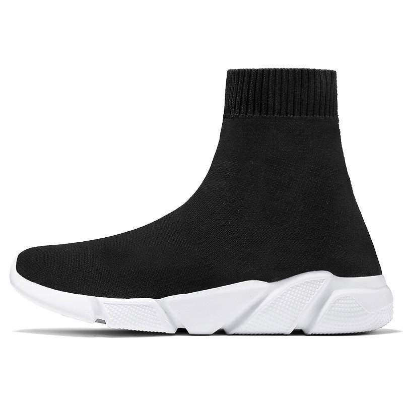 Socks Sneakers Balenciaca-Shoes Trend Walking Winter Women New-Brand for Couples Mesh title=