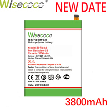 WISECOCO 3800mAh S8 Battery For Blackview 5.7inch Phone Latest Production High Quality Battery+Tracking Number+Free shipping