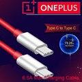 Original Oneplus 8t Warp Ladekabel 6,5 EINE PD Usb 3,1 Typ C Zu Typ-C Kabel für ein Plus 8t 8 7t Pro Lade 65W Ladegerät Draht