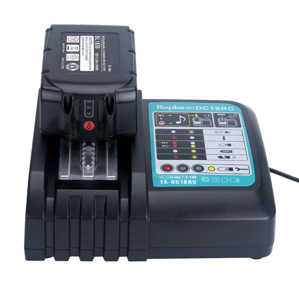 Fast Battery Charger 14.4v/18v DC18RA\RC 3A Quick Charging for Makita BL1815 BL1830 SP99
