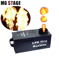 Big Flame One Head DMX Fire Machine Stage Fire Fireworks machine Flame Projector Stage Effect High Quality Valve Spray Flame