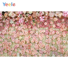 Yeele Wedding Ceremony Small Rose Florals Ins Decor Photography Backdrops Personalized Photographic Backgrounds For Photo Studio