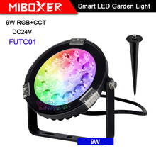 Miboxer 9W RGB+CCT Smart LED Garden Light DC24V FUTC01 IP65 Waterproof led Outdoor lamp Garden Lighting