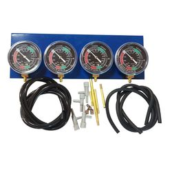 Motorcycle Fuel Carb Carburetor Vacuum Gauge Synchronizer 4 Cylinder Balancer