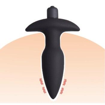 Anal Butt Plug Dildo Vibrator  1