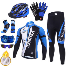 Pro Wielertrui Team Mountainbike Kleding Mannen Fiets Kleding Winter Thermische Warm Outdoor Sport Cycle Wear Set Accessoires