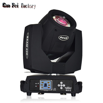 Sharpy beam moving head light fast 230w 7r with 3 phase motor 230