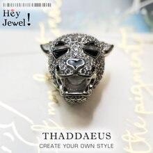 Tiger Bead-abalorio de plata de ley 2020 para hombre y mujer, accesorio de lujo, para la fabricación de joyas, Europa, 925