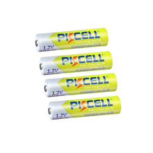 4/8PC PKCELL AAA NIMH batteria ricaricabile 3A 1000mah 1.2V NI MH AAA batterie ricaricabili aaa fino a 1000 volte circolari