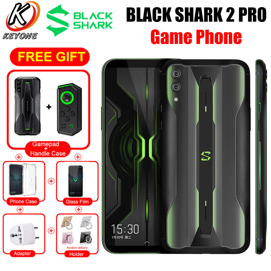 Global xiaomi tubarão preto 2 pro 4g lte jogo telefone móvel 6.39
