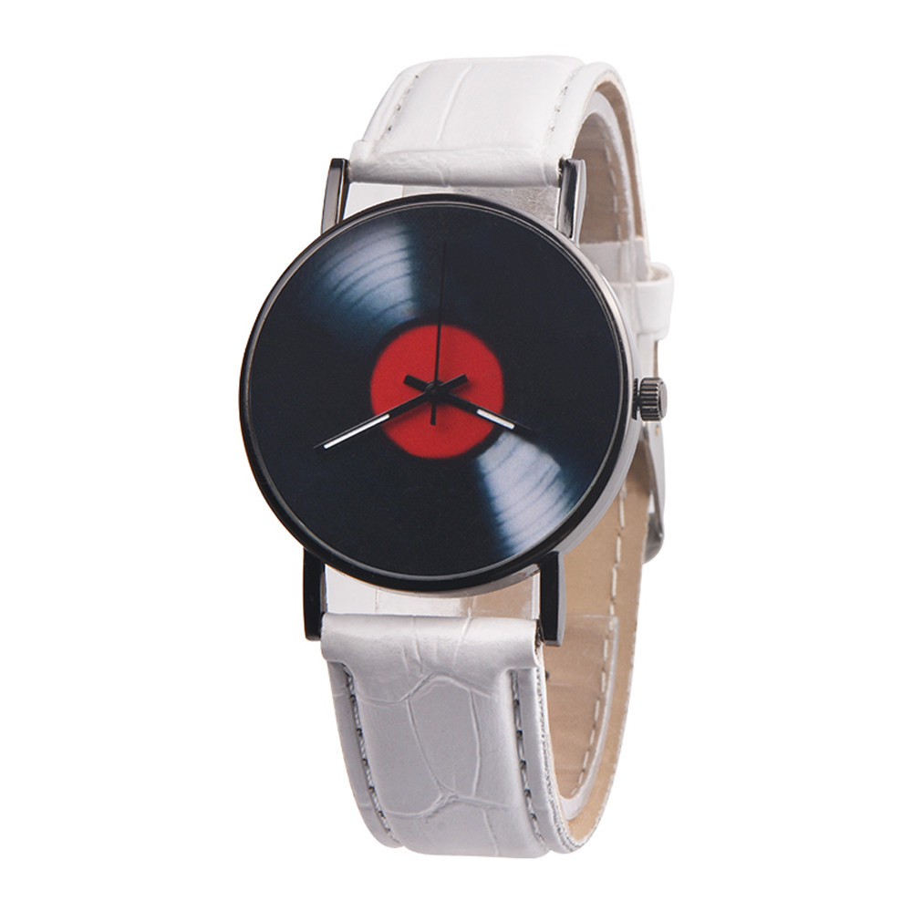 Hd54fe6fab8ba40e1b15daff8c9cf3db9s 2020 Fasion Men's Watch Neutral Watch Retro Design Brand Analog Vinyl Record Men Women Quartz Alloy Watch Gift Female Clock NEW