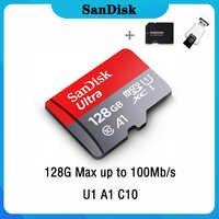 Sandisk Ultra Micro SD 128GB 32GB 64GB 256GB 16G 400GB Micro SD Karte SD /TF-Karte Speicher Karte 32 64 128 gb microSD für Telefon