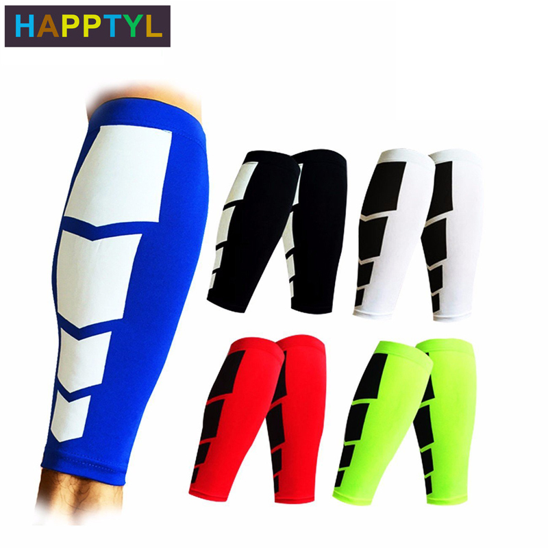 HAPPTYL 1Pcs Calf Compression Sleeves - Leg Compression Socks For Shin Splint, & Calf Pain Relief - Men, Women, And Runners
