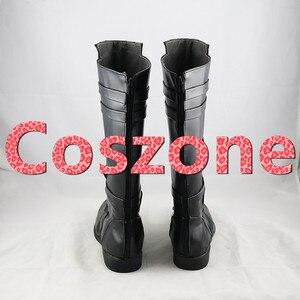 Image 3 - AnakinSkywalker czarne buty Cosplay buty Halloween karnawał Cosplay kostium akcesoria