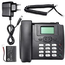 Новейший GSM900 1800 МГц Поддержка SIM фиксированный беспроводной GSM Настольный телефон sim-карта мобильный домашний офис Настольный телефон