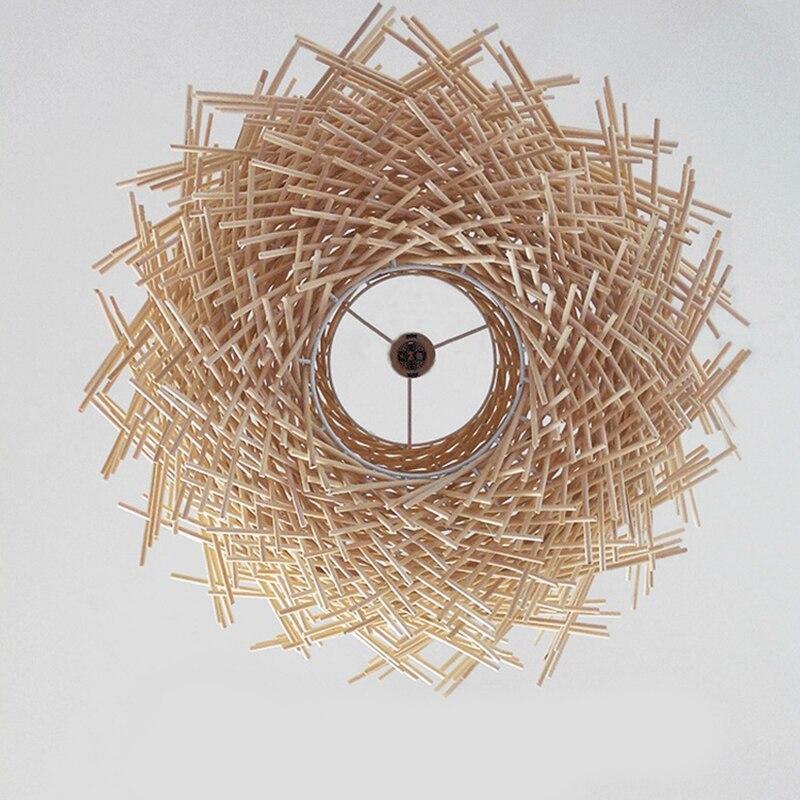 de passaro casa bambu chapeu de 02