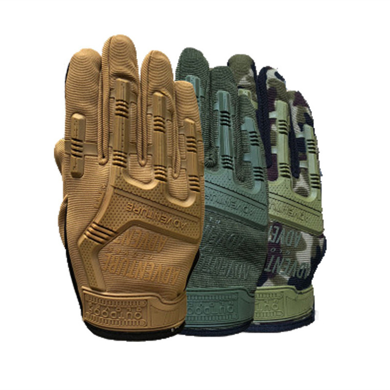 2020 Army Combat Tactical Gloves Men Fans Army Training Climbing Wearproof Outdoor Shooting Cycling Antiskid Full Finger Mittens