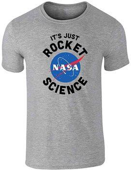 NASA zatwierdziła to tylko rakieta nauka śmieszna szara koszulka graficzna 4XL T-Shirt męski tanie i dobre opinie Podróż TR (pochodzenie) Cztery pory roku Z okrągłym kołnierzykiem SHORT normal COTTON Na co dzień Znak