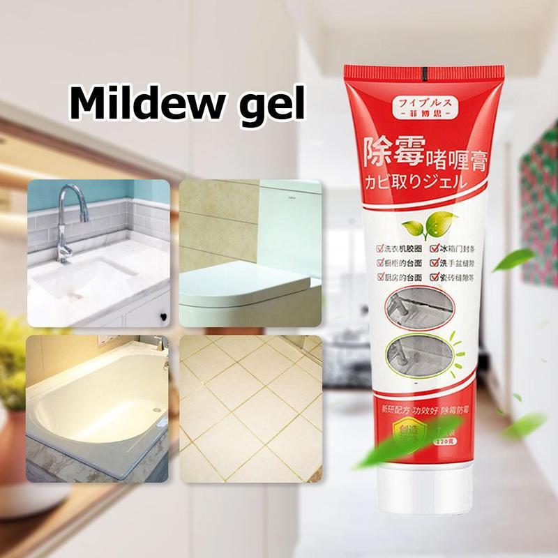 120g Transparent Mildew Gel Furniture Tile Pool Fungicide Ceramic Waterproof Wall Mildew Cleaner Cleaning Gap Refill Agent