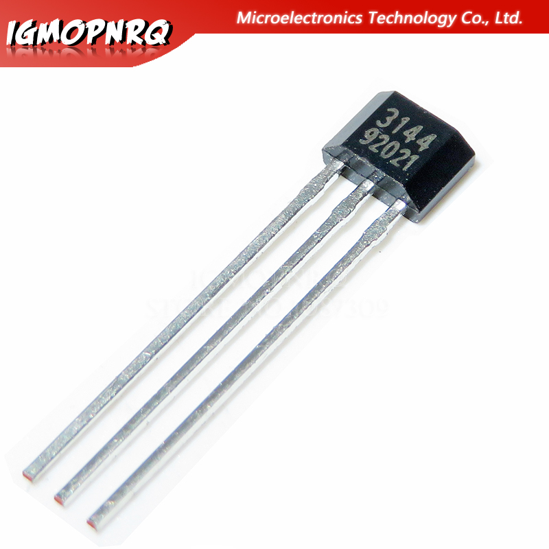 10pcs/lot A3144E A3144 3144 TO-92 Hall Effect Sensor New Original Free Shipping