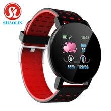 Shaolin banda inteligente esporte rastreador para android ios bluetooth relógio inteligente masculino pressão arterial smartwatch relógios femininos