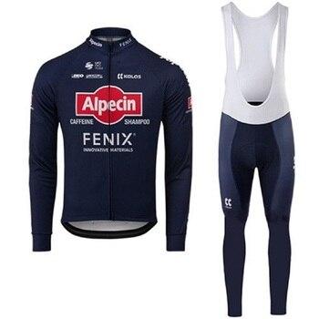 Alpecin Fenix-Camiseta de manga larga para Ciclismo de verano, traje transpirable para...