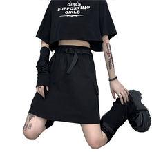 Юбка карандаш Женская на молнии модная мини юбка с завышенной