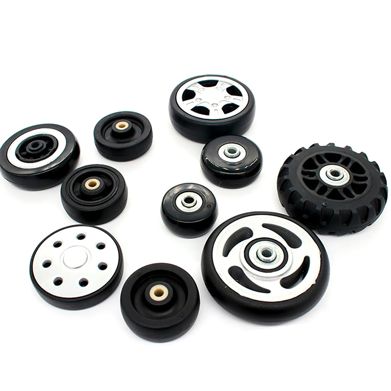 2 Pcs/set Suitcase Wheels Luggage Accessories Replacement Wheel Axles Deluxe Repair Tool Casters Bags With Screw Accessories