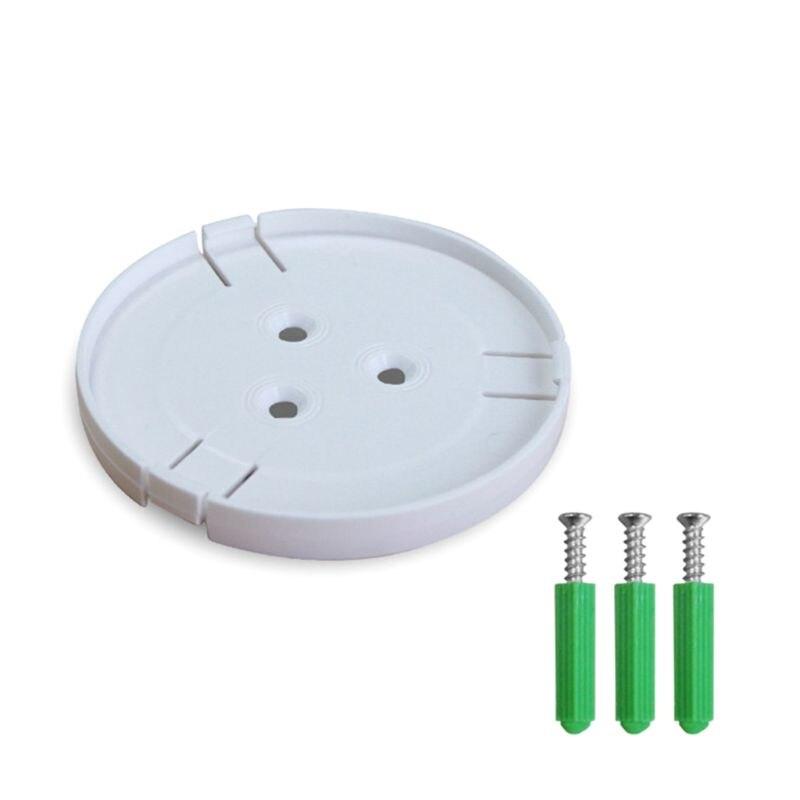 2Set 360 Degree Swivel Plastic Camera Wall Mount Bracket Holder for Mi/Yi Smart Home Security Camera Accessories
