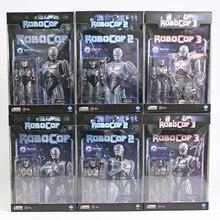 Hiya игрушки RoboCop с Jetpack битва поврежденная в масштабе 1/18 ПВХ экшн-фигурка коллекционные модели игрушки