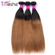 Tinashe Haar 1B 30 Farbige Ombre Bundles Brasilianische Haarwebart Bundles Remy Menschenhaar 3 Bundles Gerade Haar Bundles