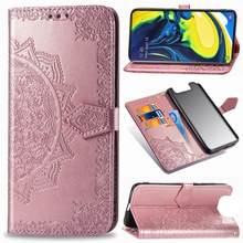 Leather Phone Case For Samsung A50 Flip Cases Wallet Cases For A520 A310 A320 A10EA10 A30 A40 A60 A70 A80 A6 A7 A8 A9 2018 Cover(China)