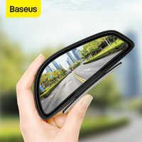 Baseus-Espejo retrovisor del coche impermeable, 2 uds., gran angular de 360 grados, para aparcar