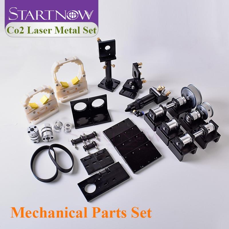 Startnow DIY Laser Transmission Hardware Tools Components For CO2 Engraver Machine Mechanical Kit CNC Cut Parts Laser Head Set