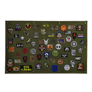 Image 1 - Patch stockage panneau daffichage militaire Collection brassard finition tissu Badge affiche armure fond bricolage Nylon tenture murale