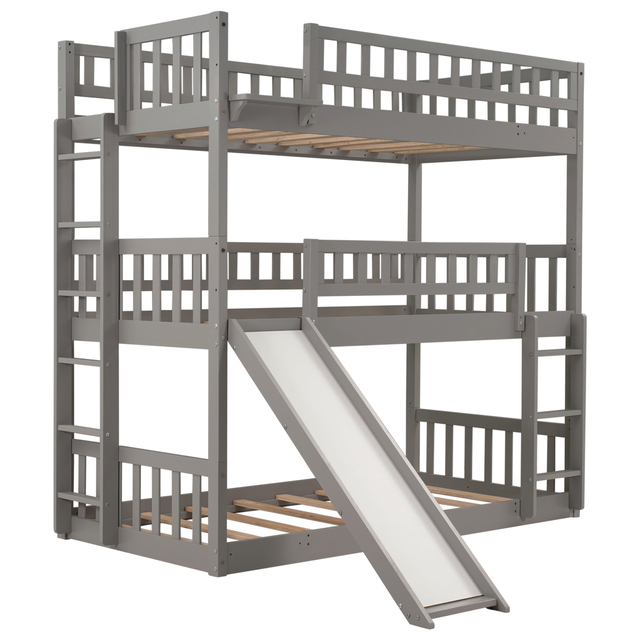 Triple Bunk Bed Twin-Over-Twin-Over-Twin  3