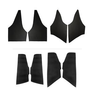Image 2 - Microfiber Leather Interior Car Styling Door Panel Covers Trim For Toyota Corolla 2007 2008 2009 2010 2011 2012 2013