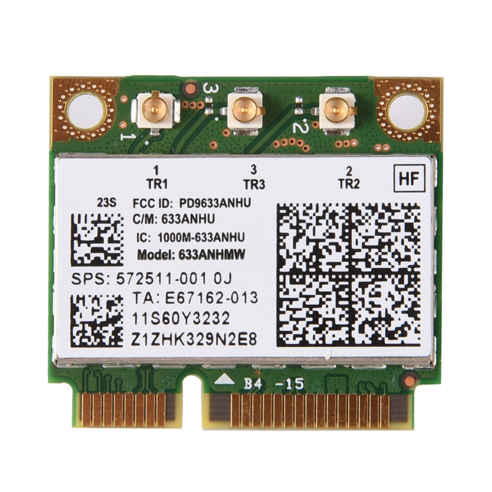 2.4 / 5G Dual-Band Mini PCI-E Wifi Adapter Card For Lenovo For Lenovo For IBM For Intel 6300 AGN Wi-fi Card Network Card