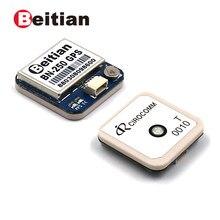 Beitian 25*25*6mm, módulo gps, nível uart ttl, glonass gps módulo com flash, cirocomm 0010 antena, BN-250