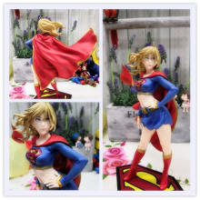Kaka Toy Justice League DC Cartoon Pretty Girl Supergirl Superman Super Girl Return Box(China)